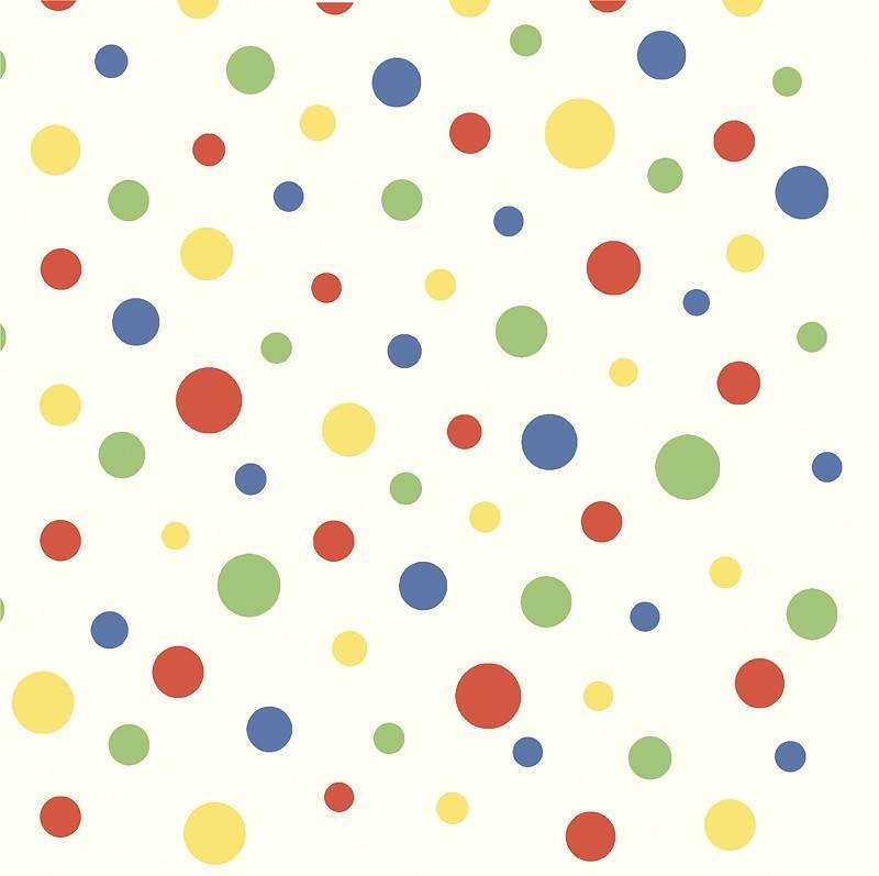 стена в разноцветный горошек преображения